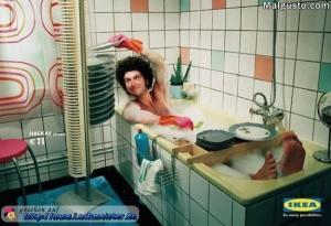 lustiges-bild_abwaschen-in-der-badewanne