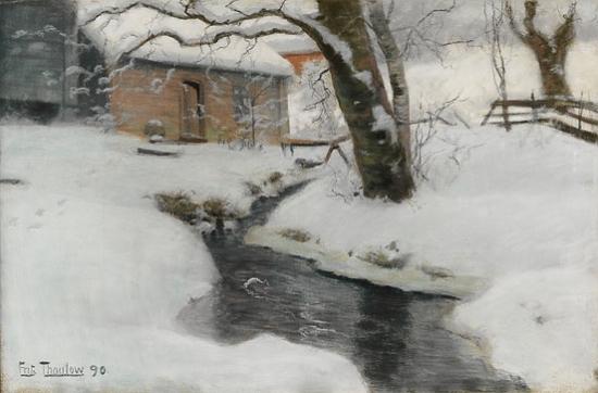 Frits_Thaulow-Norsk_vinterlandskap_1890