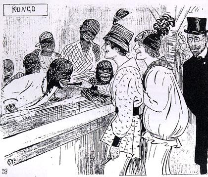 Karikatur von 1914