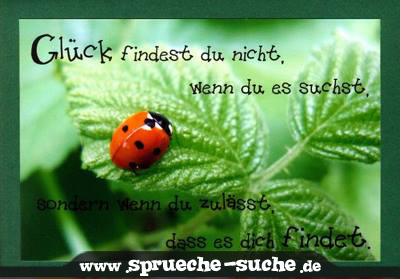 Spruch-Glück-finden